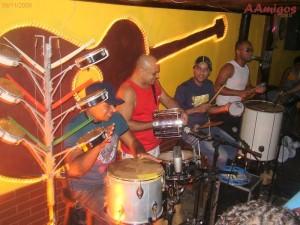 Forte Desejo na prévia Samba Aracaju 2008 - Bar Coqueiral